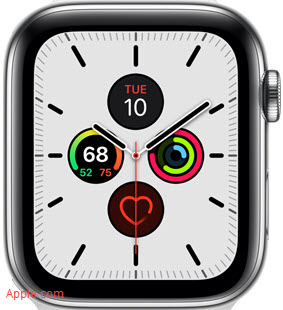 Apple Watch 5 New Face