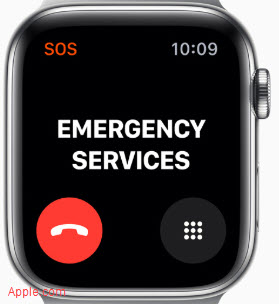 Apple Watch 5 Emergency Calling